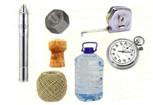 Нехитрый инструмент, который потребуется для определения параметров вашей скважины