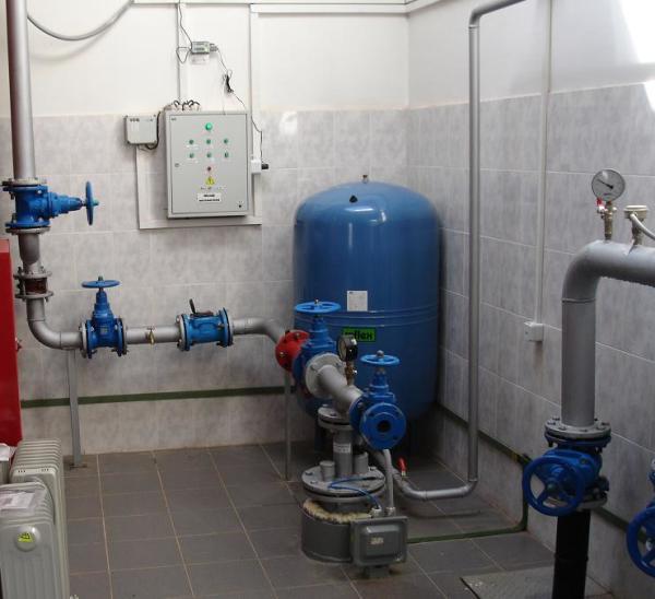 Необходимое оборудование для скважины займет примерно 2-3 квадратных метра вашей площади