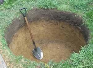 Независимо от того, какие слои грунта при копке колодца встретятся, вся работа должна с самого начала выполняться предельно точно и аккуратно
