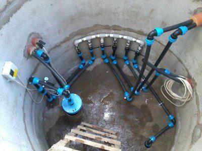 Оборудование для подъема воды и её подачи в дом
