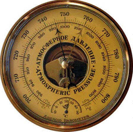 Образец барометра-анероида