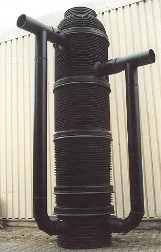 Образец перепадного колодца.