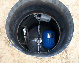 Обустройство кессона для скважины из бетона