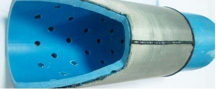 Обычный фильтр на конце трубы не способен задержать мелкие частицы ила и глины без песчаной «шубы».