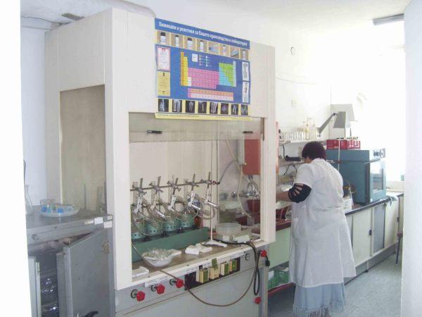 Почвенно-агрохимическая лаборатория