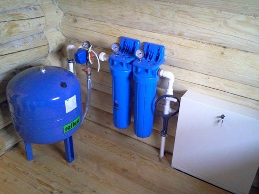 Подведение воды из колодца