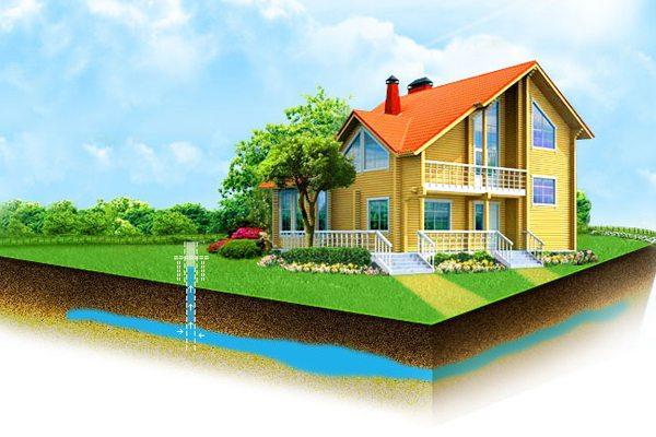 Помпа для питьевой воды на загородном участке