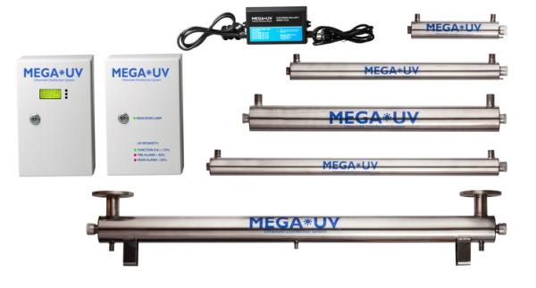 Приборы для ультрафиолетового обеззараживания MEGA-UV (США)