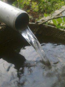 Продолжаем чистку до тех пор, пока вода не станет чистой и прозрачной.
