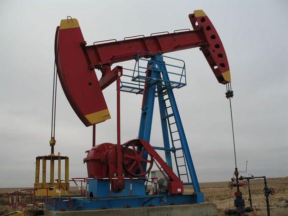 Работа нефтяной скважины