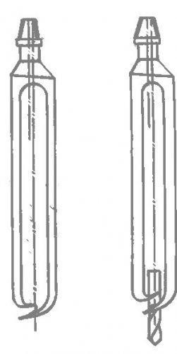 Различные типы буровых ложек в разрезе