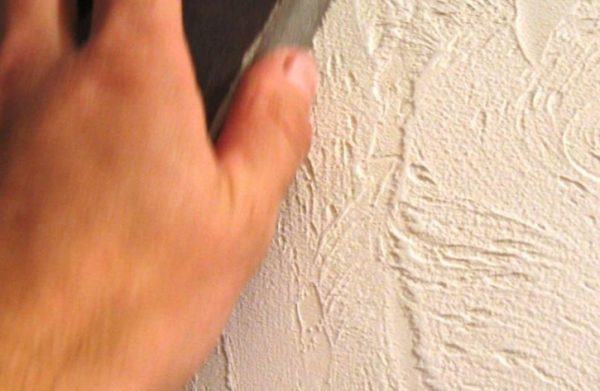 Рельефная поверхность выглядит даже лучше, чем гладкая