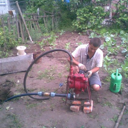 Ремонт скважины на воду в домашних условиях