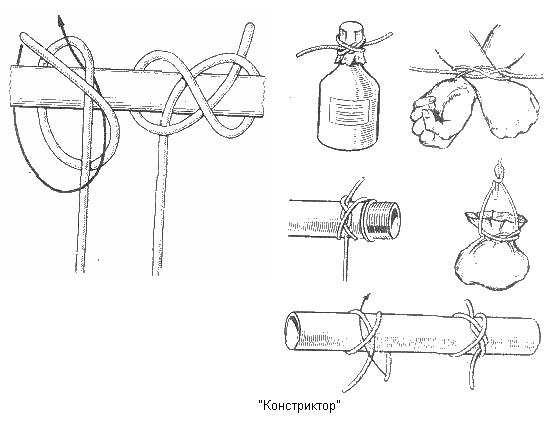 Схема узла «констриктор»