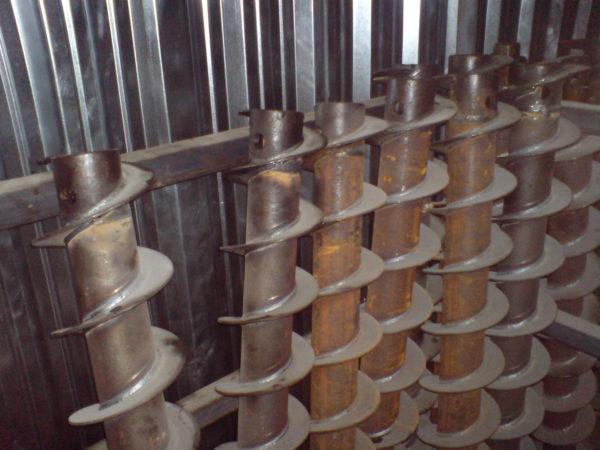 Шнеки заводского производства для механизированных буровых установок
