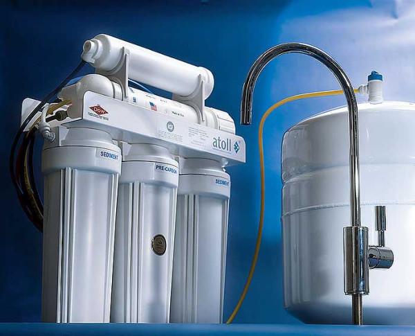 Система фильтрации – гарантия отсутствия песка в воде