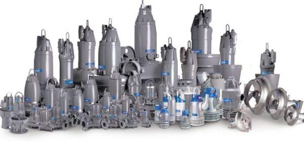 Скважинные насосы для грязной воды спирального типа