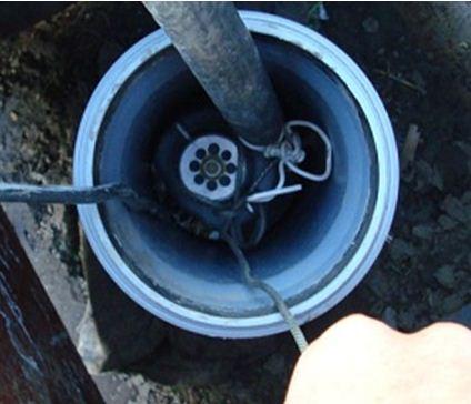 Снятие петли кабеля