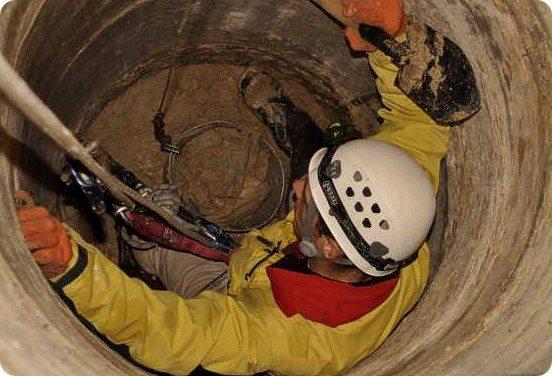 Техника безопасности при ремонте бетонного колодца