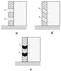 Виды боковых цементных фильтров – очень полезный элемент конструкции (см. описание в тексте)