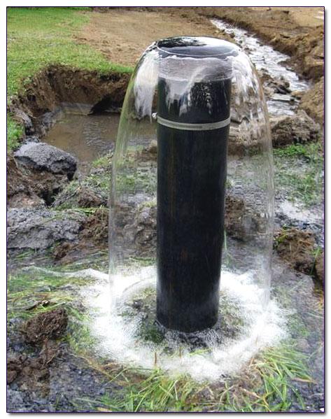 Вода после очистки скважины