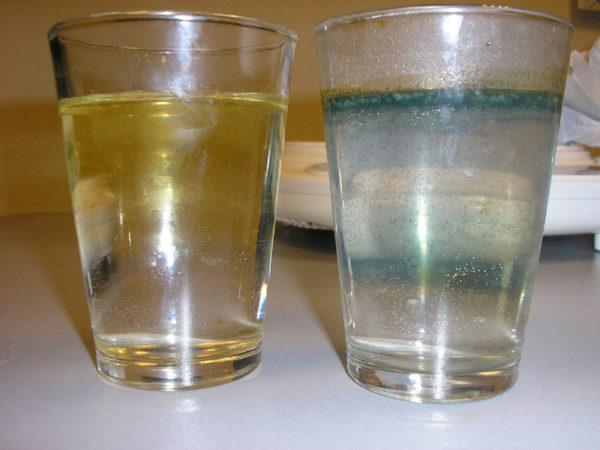 Земные недра могут давать мутную перенасыщенную железом жидкость